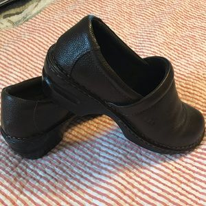 Born leather slip on shoe